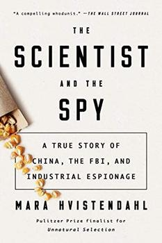 The Scientist and the Spy jacket