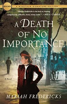 A Death of No Importance jacket