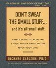 Don't Sweat The Small Stuff jacket