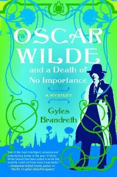 Oscar Wilde and a Death of No Importance jacket