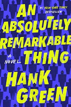 An Absolutely Remarkable Thing jacket