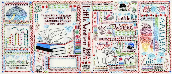 Little Women embroidered cover