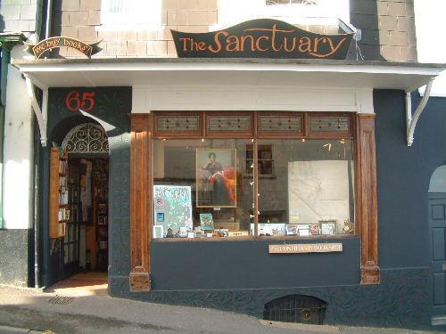 Santuary Bookstore, Lyme Regis