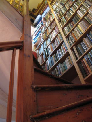 Santuary Bookstore Staircase