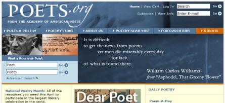 """poets.org"""""""