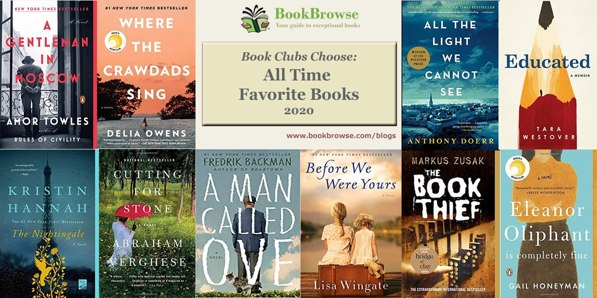 Book Club Top 10 - All Time Favorite Books
