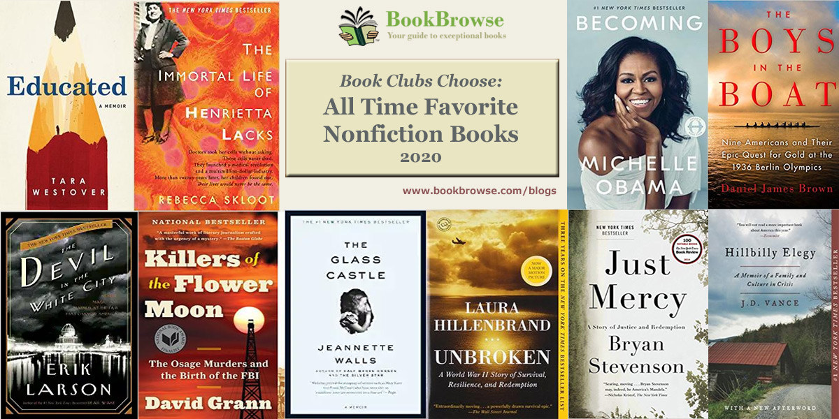Book Club Top 10 - All Time Favorite Nonfiction