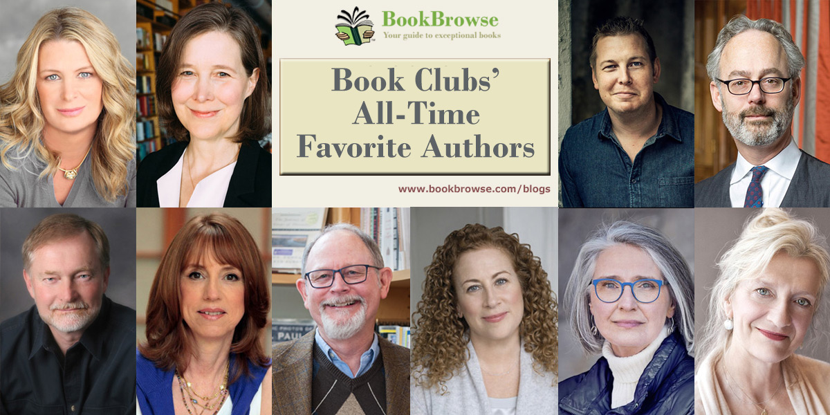 Book Clubs All-Time Favorite Authors