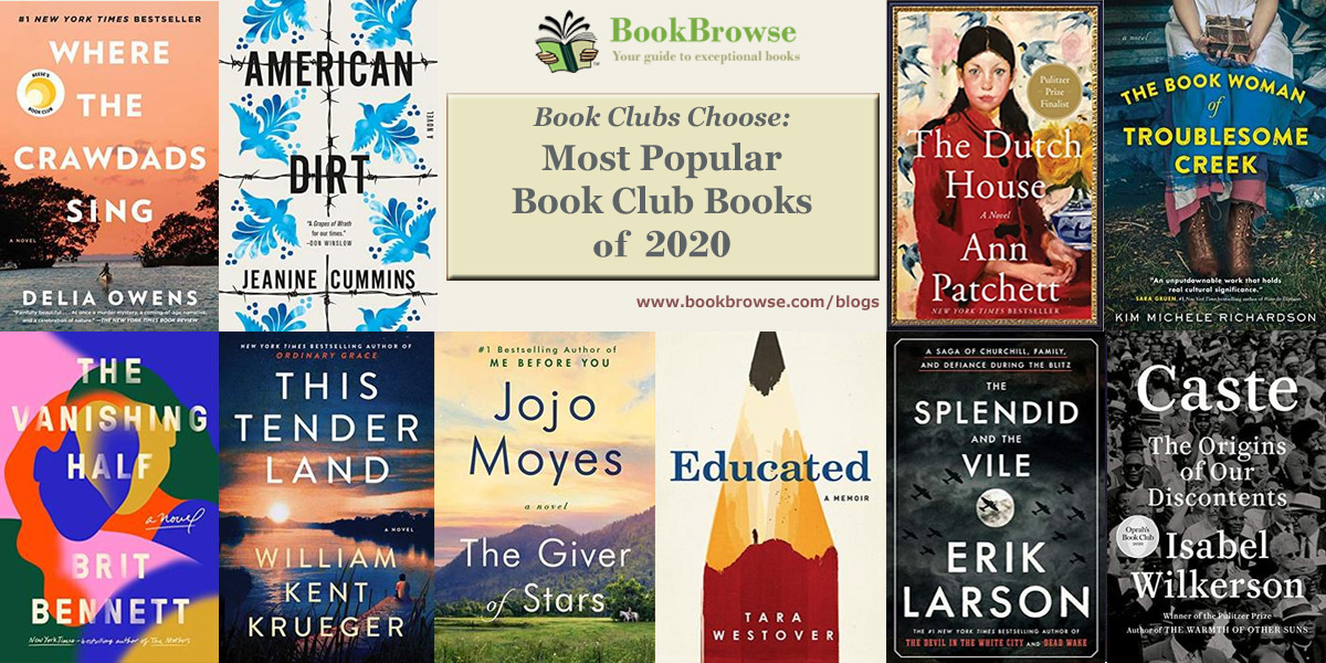The Most Popular Book Club Books of 2020