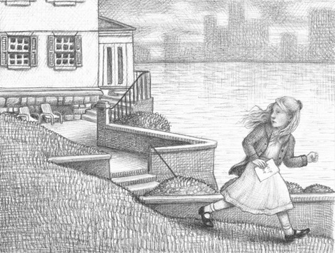 Illustration from Wonderstruck by Brian Selznick, pages 62-63