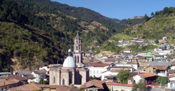 The town of Angangueo in Mexico is host to the Monarch Butterfly Biosphere Reserve