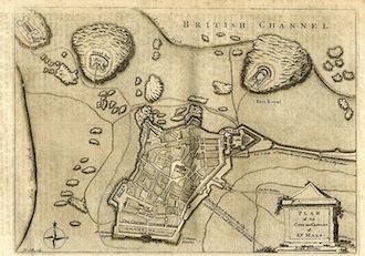 Saint Malo Map
