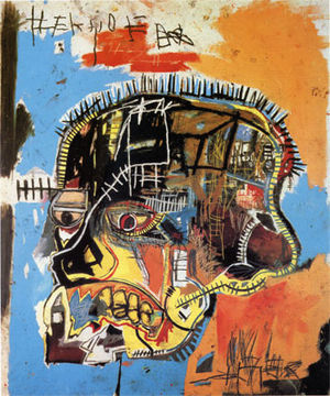 untitled by J-M Basquiat