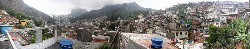 favela panorama