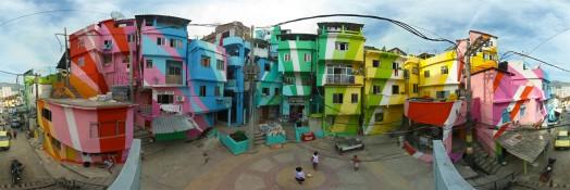 favela painted