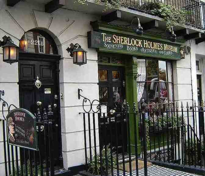 Sherlock Holmes Museum front