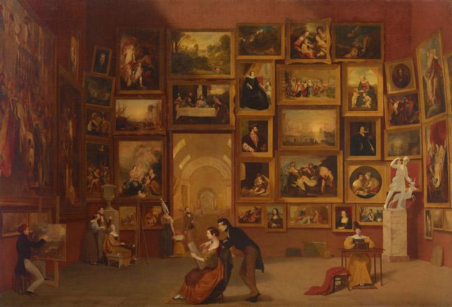 The Gallery of the Louvre