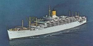 Orient Line ship