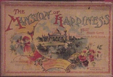 The board game, Mansion of Happiness