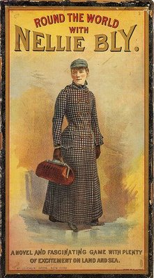 The board game, Round the World with Nellie Bly