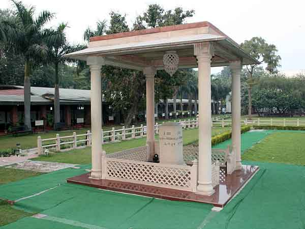 The Martyr's Column at Gandhi Smriti