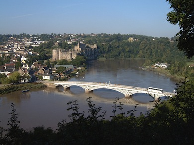 Chepstow Castle and Bridge