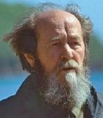 Writer Alexander Solzhenitsyn