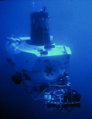 1964 3-person submarine Alvin