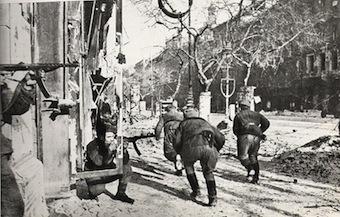 Soviet Army in Budapest