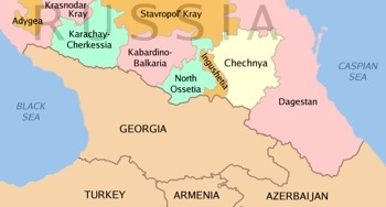 Chechnya and its neighbors