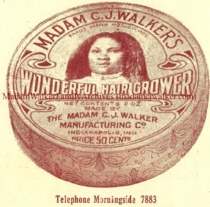 Haircare product developed by Madam C.J. Walker
