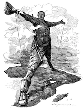 The Rhodes Colossus: Caricature of Cecil John Rhodes