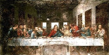 The Last Supper before its last restoration effort