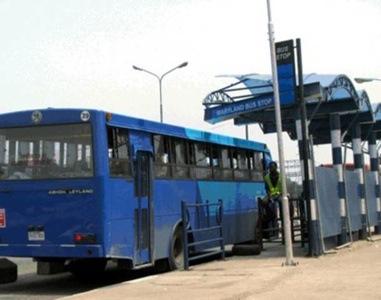Rapid transit bus in Lagos