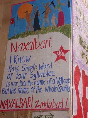 Naxalbari mural