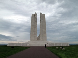 The Vimy Memorial in France