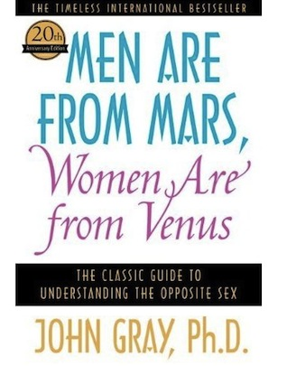 Men Are from Mars and Women Are from Venus