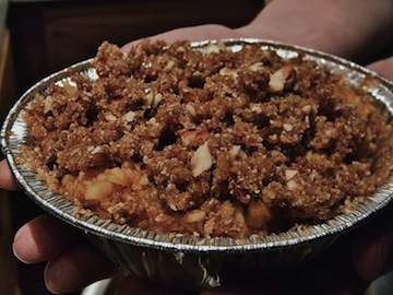Raw Apple Pie