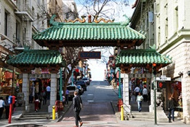 Chinatown's Dragon Gate