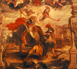 Achilles Slays Hector, by Peter Paul Rubens