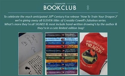 How To Train Your Dragon Giveaway