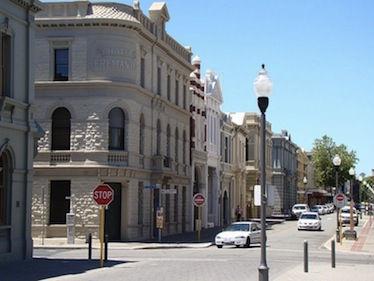 High Street in Fremantle