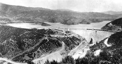 St. Francis Dam in 1926