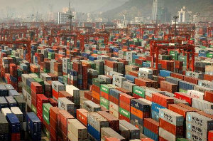 Shenzhen is one of the world's largest container ports