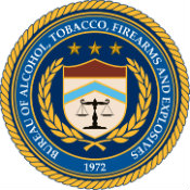 The seal of the Bureau of Alcohol, Tobacco, Firearms and Explosives