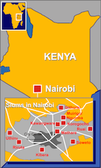 Map of Kibera