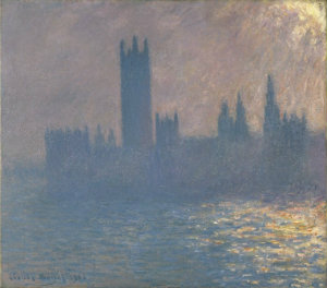 Monet's Houses of Parliament: Effect of Sunlight in the Fog