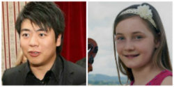 Lang Lang and Alma Deutscher