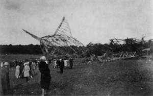 R101 wreck