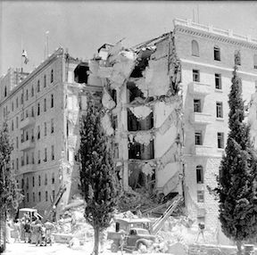 Bombing of the King David Hotel